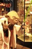 Foto von Vorlagen-Yoda-Zahl Lizenzfreies Stockbild