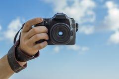 Foto voor geheugen van de zomervakantie Stock Foto