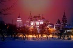 Fotoachtergrond mooi met het Russische Kremlin royalty-vrije stock afbeeldingen