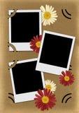 Fotoalbum velho da página Imagem de Stock Royalty Free