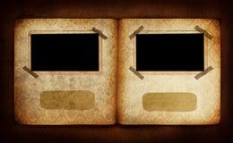 Fotoalbumseite Lizenzfreies Stockfoto