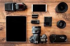 Fotoausrüstung Lizenzfreie Stockfotos