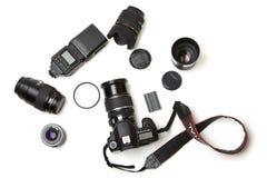Fotoausrüstung Lizenzfreies Stockfoto