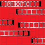 Fotoband. Vektor. Stockfotografie