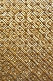 Fotobeschaffenheit des Goldmusters lizenzfreie stockfotografie
