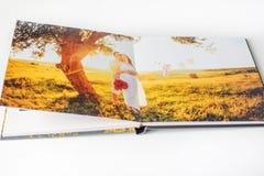 Fotoboek van paar stock foto's