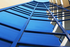 Fotobyggnader av exponeringsglas Arkivfoton