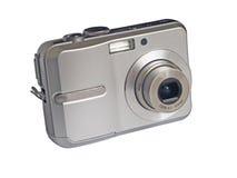 Fotocamera. Digital foto camera on white background Royalty Free Stock Photo