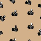 Fotocamera pattern Royalty Free Stock Photo