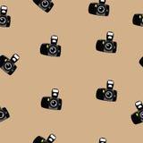 Fotocamera pattern Royalty Free Stock Photo