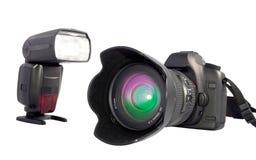 Fotocamera-Reflex digitale Stockfoto
