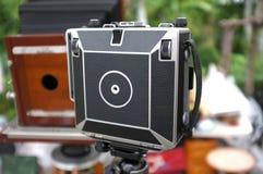 Fotocamere grande formato d'annata fotografia stock