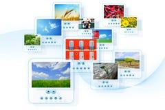Fotocollage Lizenzfreies Stockfoto