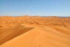 Sahara öken Arkivfoton