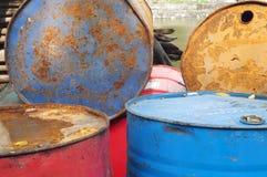 Olja trummar Royaltyfri Bild