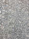 Fotoet visar bakgrunden av väggen, den sömlösa yttersidan arkivbild