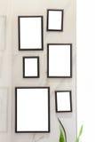 Fotofeld auf Wand Lizenzfreie Stockbilder