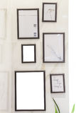 Fotofeld auf Wand Lizenzfreie Stockfotografie