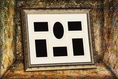 Fotofeld in einem Weinlesekasten Lizenzfreie Stockbilder