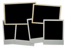 Fotofeld eines leeren Fotos Stockfotografie