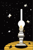 Fotogenlampa Royaltyfri Fotografi