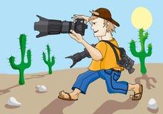 Fotograaf Stock Afbeelding
