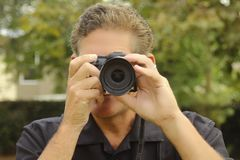 fotograaf Royalty-vrije Stock Afbeelding