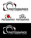Fotograaf Logo Stock Afbeelding