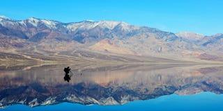 Fotograaf op Slecht water. royalty-vrije stock foto