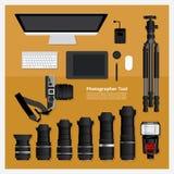 Fotograaf Tool Royalty-vrije Stock Foto's