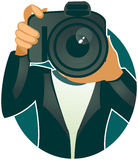Fotograaf (vector) Stock Afbeelding