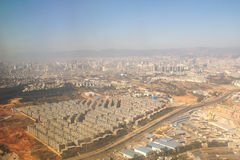 Fotografía aérea imágenes de archivo libres de regalías