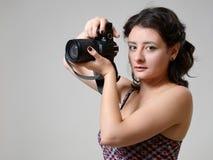 Fotografía bonita de la mujer Fotos de archivo libres de regalías