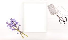 Fotografía común diseñada con el marco blanco Imagen de archivo