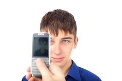 Fotografía con el teléfono móvil Fotografía de archivo