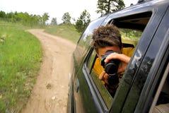 Fotografía de la aventura del safari imagenes de archivo