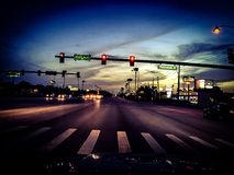 Fotografía de la calle en invernadero Imagen de archivo