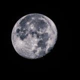 Fotografía de la luna Foto de archivo