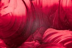 Fotografía de un cristal coloreado imagen de archivo libre de regalías