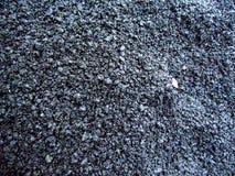 Fotografía del asfalto negro del remiendo frío Fotografía de archivo