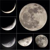 Fotografía del canonShoot de la luz de luna Fotografía de archivo