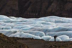 Fotografía del glacial Imagenes de archivo