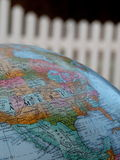 Fotografía del globo que ofrece América Fotografía de archivo libre de regalías