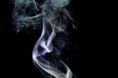 Fotografía del humo de Belladona- Imagen de archivo