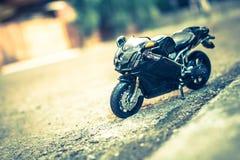 Fotografía del juguete de la bici Imagen de archivo libre de regalías