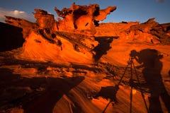 Fotografía en poca Finlandia, Nevada Imagen de archivo libre de regalías