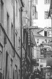 Fotografía rústica de la calle Fotografía de archivo
