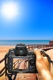 Fotografíe el verano imagen de archivo