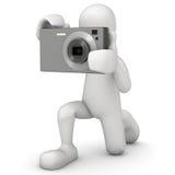 Fotograf stock abbildung