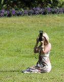 Fotograf Stockbild